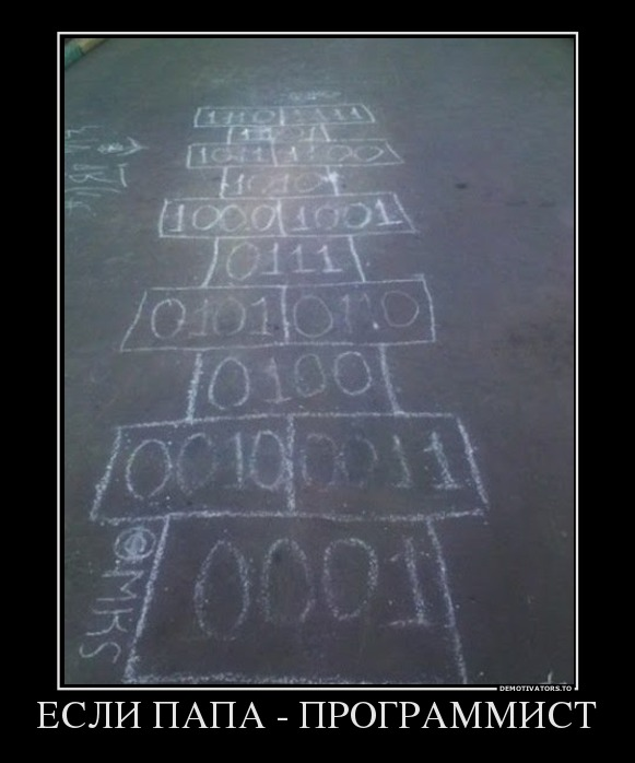 Если папа программист