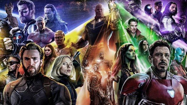 Все герои Мстителей