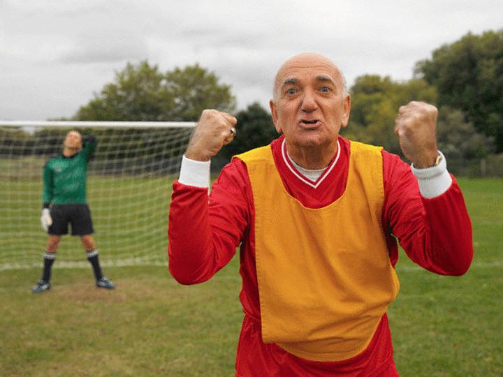 Футбол пенсионеров