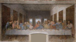 Леонардо да Винчи. Фреска «Тайная вечеря»