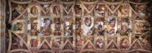 Микеланджело Буонаротти. Потолок Сикстинской капеллы