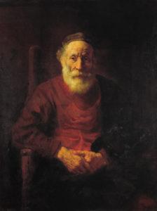 Рембрандтовские старики. Старик в красном