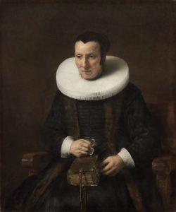 Рембрандтовские старики. Старушка с книгой