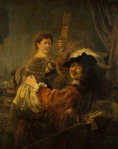 Рембрандт. Блудный сын в таверне