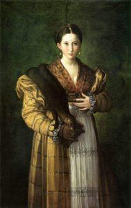 Франческо Пармиджанино. Антея