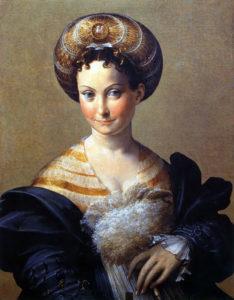 Франческо Пармиджанино. Портрет женщины