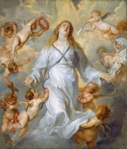 Антонис ван Дейк. Вознесение Марии