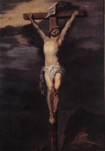 Антонис ван Дейк. Христос на кресте