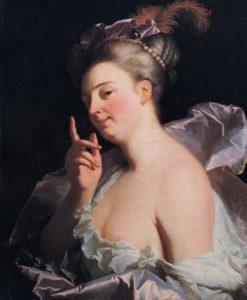 Гиацинт Риго. La Menasseuse
