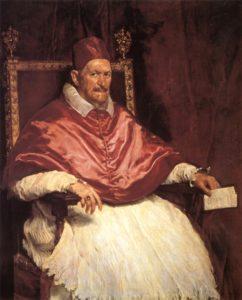 Диего Веласкес. Портрет Иннокентия X