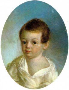 Очень молодой Пушкин