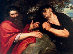 Питер Пауль Рубенс. Гераклит и Демокрит