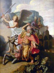Рембрандт. Валаамова ослица