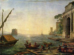 Клод Лоррен. Морской порт