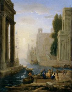 Клод Лоррен. Отплытие святой Паолы Римской