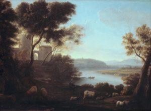Клод Лоррен. Римский пейзаж