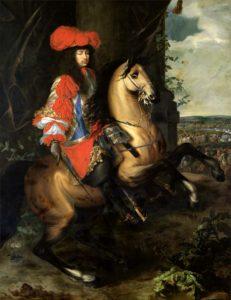 Шарль Лебрен. Конный портрет Людовика XIV