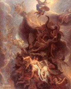 Шарль Лебрен. Падение восставших ангелов