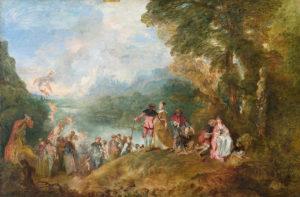 Антуан Ватто. Паломничество на остров Киферу