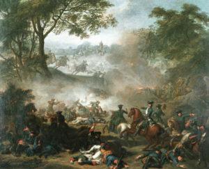 Жан-Марк Натье. Битва при Лесной