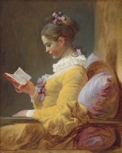 Жан Оноре Фрагонар. Молодая читательница