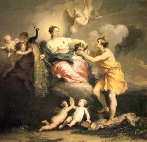 Якопо Амигони. Юнона получает от Меркурия голову Аргуса