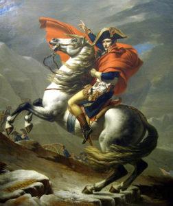 Жак-Луи Давид. Бонапарт на Сен-Бернарском перевале