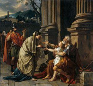 Жак-Луи Давид. Велизарий, просящий подаяние