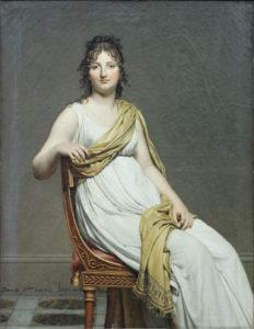 Жак-Луи Давид. Портрет мадам де Вернинак