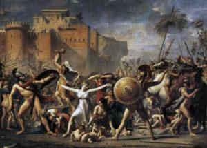 Жак-Луи Давид. Сабинянки, останавливающие сражение между римлянами и сабинянами