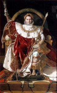 Жан-Огюст-Доминик Энгр. Наполеон на императорском троне