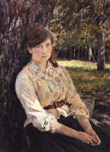 Серов В.А. Девушка, освещённая солнцем