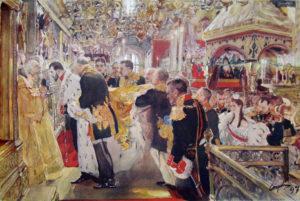 Серов В.А. Коронация Николая II