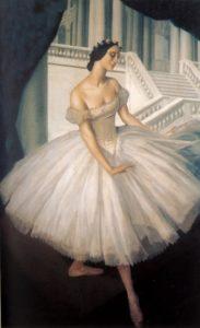 Яковлев А.Е. Портрет балерины Анны Павловой