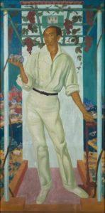 Яковлев А.Е. Портрет мексиканского художника Роберто Монтенегро