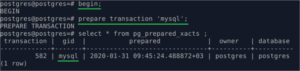 max_prepared_transactions. begin