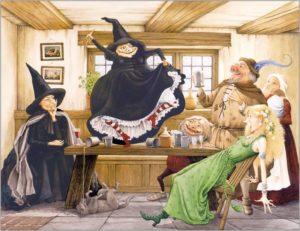 Пратчетт Терри. Ведьмы за границей. Картинка